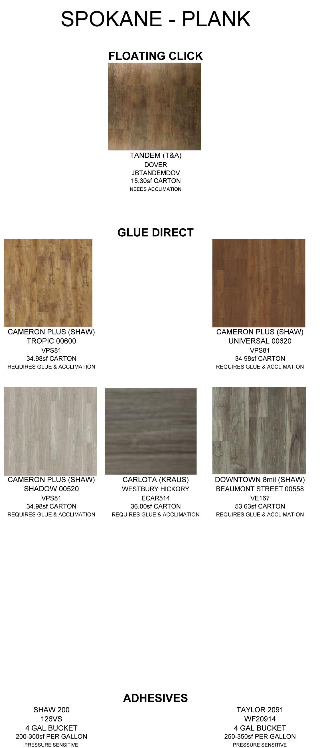 Lvt Catalog Alliance Flooring